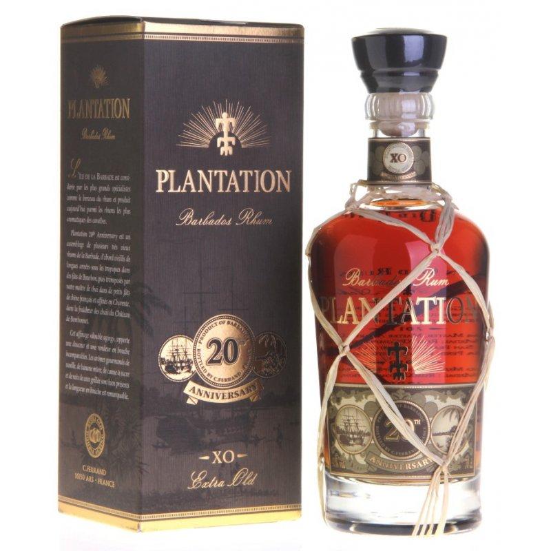 Plantation Barbados XO 20th Anniversary Rum, 42,95 ...