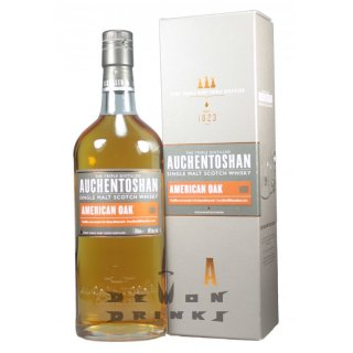 Auchentoshan American Oak Lowland Single Malt Scotch