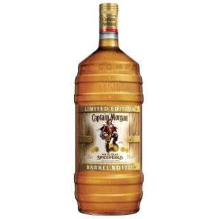 Captain Morgan Spiced Gold 1,5 Liter Magnum Barrel Bottle
