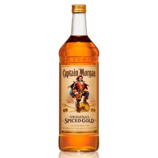 Captain Morgan Spiced Gold 3 Liter Doppel Magnumflasche