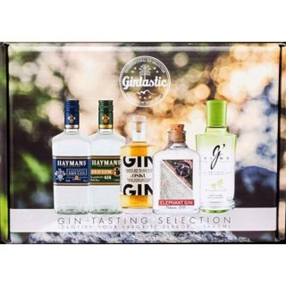 Gin Tasting Kit 5 x 40 ml.
