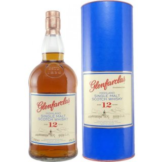 Glenfarclas Scotch Whisky 12 Jahre 1,0 Liter