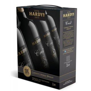 Hardy´s Crest Cabernet Shiraz Merlot 3,0l Bag in Box