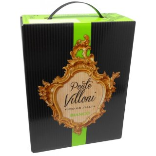 Ponte Villoni Vin dítalia Bianco 3,0l Bag in Box